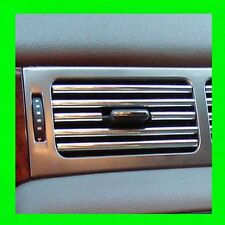 JAGUAR CHROME INTERIOR DASH/AC VENT TRIM MOLDING W/5YR WRNTY