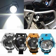 125W 3000LM U5 LED MOTORCYCLE BIKE HEADLIGHT DRIVING FOG LAMP SPOT LIGHT FOR BMW