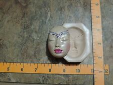 One pretty face mold of goddess from ooak carving