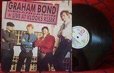 GRAHAM BOND ORGANISATION **Live At Klooks Kleek** VERY RARE 1991 ISSUE Spain LP