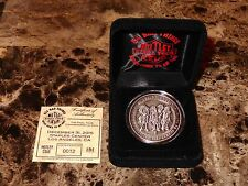 Motley Crue Rare Limited New Years Last Show Coin Tommy Lee Nikki Sixx Mick Mars