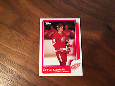 1986-87 Topps #11 Steve Yzerman DETROIT RED WINGS ~ NM