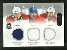2013-14 The Cup Trios GALCHENYUK Pacioretty MARKOV Jersey #13/25 MONTREAL