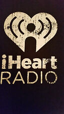 Rare iHeart Radio Crew T-Shirts BRAND NEW NEVER WORN Small, Med, L, XL and 2XL