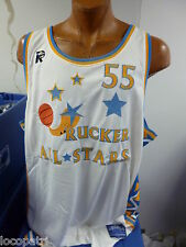 Stall & Dean Rucker Vintage Basketball All-Stars #55 Jersey NWT Mens 62 (6XL)