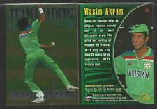FUTERA 1996 CRICKET ELITE WASIM AKRAM TEAM LEADER CARD No 24