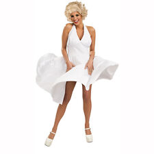 Marilyn Monroe by Bernard of Hollywood Adult White Dress Costume Size: Standard