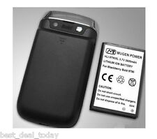 Mugen Power Extended Life Battery 3600MAH With Door For BB Blackberry Bold 9790