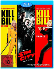 Kill Bill 1 + 2 + Sin City Collection                            | Blu-ray | 399