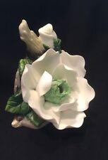 Vintage Porcelain Magnolia Flower Blossom  Night Light