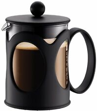 Bodum KENYA Coffee Maker (French Press System, Permanent Filter, 0.5 L/17 oz, 4