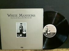 WHITE MANSIONS  Tale From The American Civil War  Various   LP  Eric Clapton etc