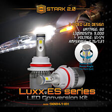 Stark LED 80W 9000LM 6000K White 3-Sided All in One Kit Dual Hi / Lo - 9004 HB1
