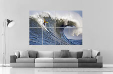 EXTREME SPORT SURF Wall Art Poster Grand format A0 Large Print