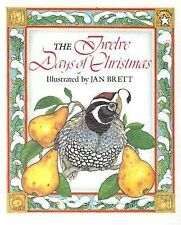 The Twelve Days of Christmas by Jan Brett (1997, Paperback)