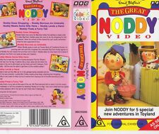 NODDY  THE GREAT NODDY VIDEO VHS PAL VIDEO~ A RARE FIND
