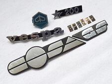 Vespa Cosa 200 GS - emblema tratto cromo - completo - originale Piaggio