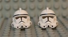 LEGO® Helmet from EP 3 Clone Trooper  X 2 - from 7655 - Episode 3