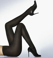 New in Box Wolford CASHMERE/SILK TIGHTS Pantyhose Large Black 11316 - 36  $285