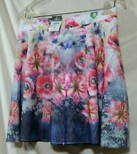Rue 21 Skirt Junior Womans Size Medium FLORAL LINED NWT