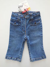 DPAM FRENCH BABY GIRL STRETCH DENIM JEANS PANTS Size 00 Fits 3-6m NEW *Gift