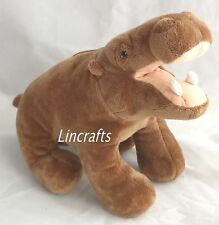 Super Soft Hippo Soft Toy by Ark Toys Premier Collection. BNWT.