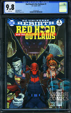 RED HOOD AND THE OUTLAWS #1 - FIRST PRINT - CGC 9.8 - SOLD OUT - DC RELAUNCH