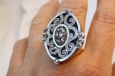 NWT Authentic Brighton elegant Instinct Silver & Crystal Ring Size 7