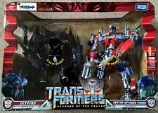 Transformers Revenge of the Fallen Optimus Prime Jetfire 2 pack Leader Class