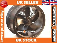 Industrial Duct Fan, Cased Axial Fan, Commercial Extractor 300mm Blade 6 Pole