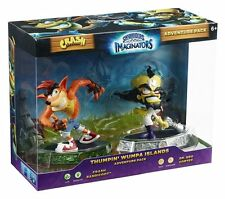 Skylanders Imaginators Adventure Pack Crash and Neo Cortex NEW SEALED