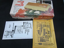 1976 Dazey Seal a Meal SAM-1 model never used in original box w/bags&instruction