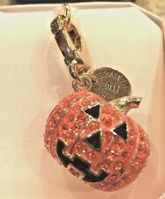 NWT 2011 Limited Edition Juicy Couture Pave Pumpkin Charm