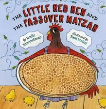 The Little Red Hen and the Passover Matzah-ExLibrary