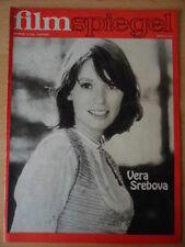 FILMSPIEGEL 14/1976 Vera Srebova  NINA HAGEN DEFA-Filme: Die FORELLE, ATLANTIS