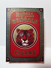 Vintage Tobacco Package - ROYAL BENGALS Cigar Box - DUMMY BOX FOR STORE DISPLAY