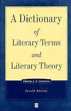 A Dictionary of Literary Terms and Literary Theory (The Language Libra-ExLibrary