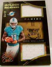 MIKE WALLACE GOLDEN RECEIVERS 12/99 PANINI BLACK GOLD 2014