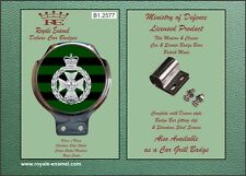Royale Military Car Bar Badge - THE ROYAL GREEN JACKETS - B1.2577