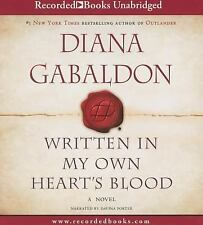 Written in My Own Heart's Blood Ourlander 8 by Diana Gabaldon (2014, CD) NEW