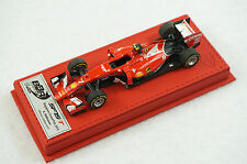 1/43 BBR FERRARI SF15-T GP SINGAPORE RAIKKONEN RED DELUXE LEATHER LE 7 PC MR