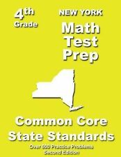 New York 4th Grade Math Test Prep : Common Core Learning Standards by...