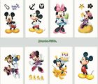 1-100 Mickey Mouse Temporary Tattoos Kids Girls Boys Party Favors Bag Filler