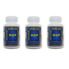 MAP Master Amino Acid Pattern MUSCLE BUILDER PROTEIN 3 Bottles 360 Tablets