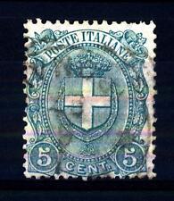 ITALIA - Regno - 1897 - Stemma di Savoia - 5 c. - Stemma sabaudo entro un ovale