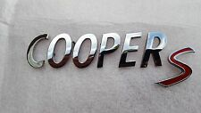 Mini Cooper S 02-16 Rear liftgate Emblem 51142755618