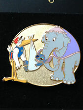 Disney Auctions (P.I.N.S.) Baby Dumbo Stitch & Mrs. Jumbo Pin LE 500