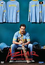 Azhar DVD - 2016 Hindi Movie Region Free English Subtitles / Emraan Hashmi