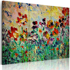 HD Canvas Prints Home Decor Wall Art Painting- Abstract Flowers Unframed #O09