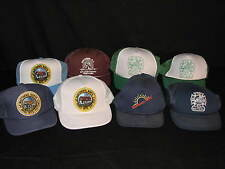 Lot of 8 Snapback Trucker Ballcap Hats Town of Matthews North Carolina Stumptown